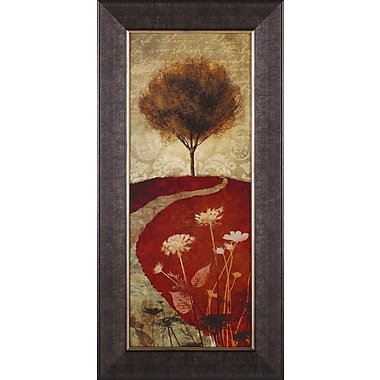 Art Effects Autumn Trees I by Conrad Knutsen Framed Painting Print
