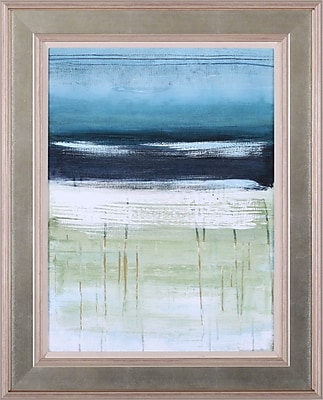 Art Effects Sea and Sky II by Heather McAlpine Framed Painting Print