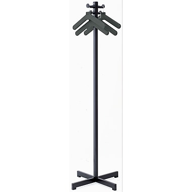 Magnuson Group Coat Rack w/ 4 Hangers; Black