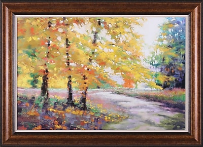 Art Effects A Gentle Light by Marla Baggetta Framed Painting Print