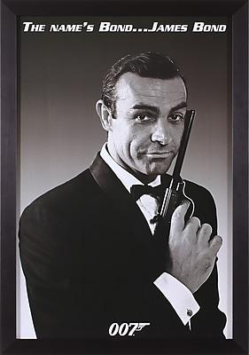 Art Effects James Bond The Name's Bond Framed Photographic Print