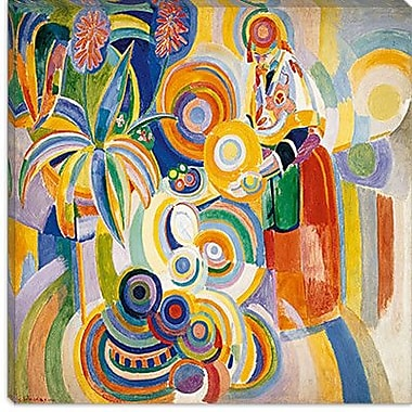 iCanvas ''Tall Portuguese Woman'' by Robert Delaunay Painting Print on Wrapped Canvas