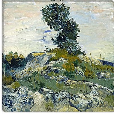 iCanvas ''The Rocks'' Canvas Wall Art by Vincent Van Gogh; 18'' H x 18'' W x 1.5'' D