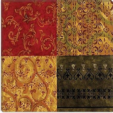 iCanvas 'Four Squares' by Pablo Esteban Painting Print on Canvas; 37'' H x 37'' W x 1.5'' D