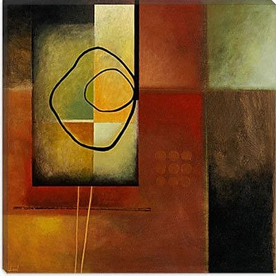 iCanvas 'I91' by Pablo Esteban Painting Print on Canvas; 26'' H x 26'' W x 0.75'' D