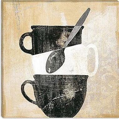 iCanvas ''Cuisinoir II'' by Daphne Brissonnet Painting Print on Canvas; 37'' H x 37'' W x 0.75'' D