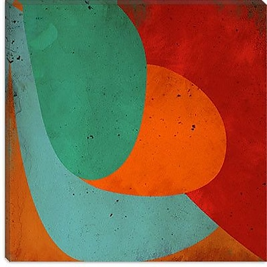 iCanvas Modern Apple on the Tree Graphic Art on Canvas; 12'' H x 12'' W x 1.5'' D