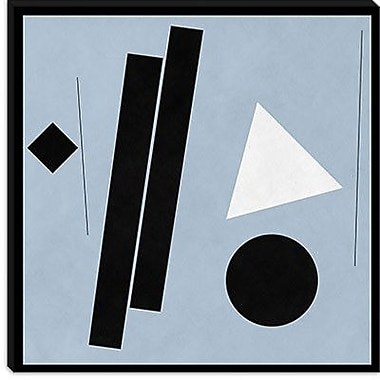 iCanvas Modern Construction (after Shaw) Graphic Art on Canvas; 26'' H x 26'' W x 0.75'' D