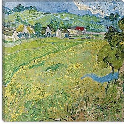 iCanvas ''Le Vessenots a Auvers'' Canvas Wall Art by Vincent Van Gogh; 18'' H x 18'' W x 1.5'' D