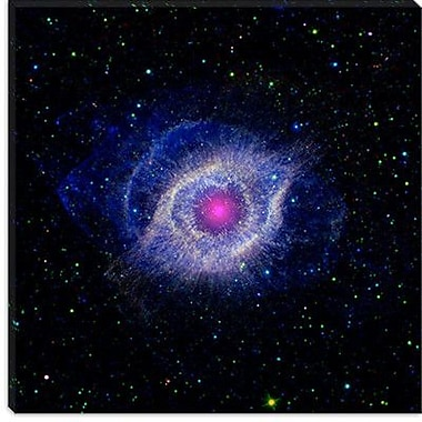 iCanvas Dying Star (Spitzer Telescope) Graphic Art on Canvas; 37'' H x 37'' W x 0.75'' D