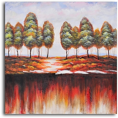 My Art Outlet Washed-Out Earth' Painting on Wrapped Canvas