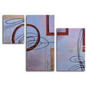 My Art Outlet Empty Frames 3 Piece Painting on Canvas Set