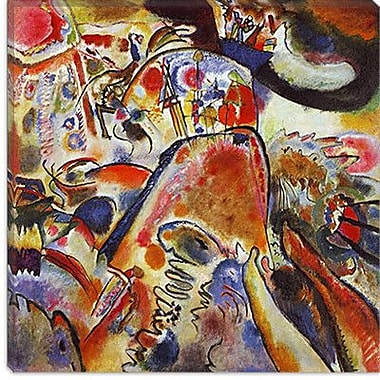 iCanvas ''Small Pleasures'' Canvas Wall Art by Wassily Kandinsky; 18'' H x 18'' W x 0.75'' D