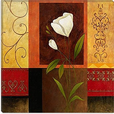 iCanvas Decorative Art ''White Rose'' by Pablo Esteban Painting Print on Wrapped Canvas
