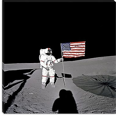 iCanvas Apollo 14 Shepard Photographic Print on Canvas; 12'' H x 12'' W x 1.5'' D