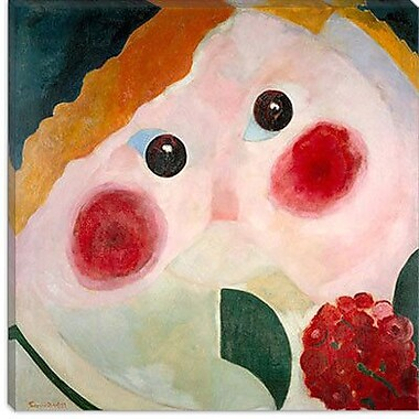 iCanvas ''Girl with Ranunculus'' Canvas Wall Art by Theo van Doesburg; 37'' H x 37'' W x 0.75'' D