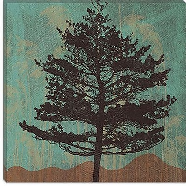 iCanvas 'Evergreen' by Erin Clark Wall Art on Canvas; 12'' H x 12'' W x 1.5'' D