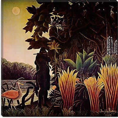 iCanvas ''The Snake Charmer'' Canvas Wall Art by Henri Rousseau; 37'' H x 37'' W x 1.5'' D