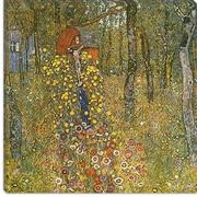 iCanvas ''Farm Garden with Crucifix'' Canvas Wall Art by Gustav Klimt; 12'' H x 12'' W x 1.5'' D