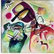 iCanvas ''With Black Arch'' Canvas Wall Art by Wassily Kandinsky; 12'' H x 12'' W x 1.5'' D