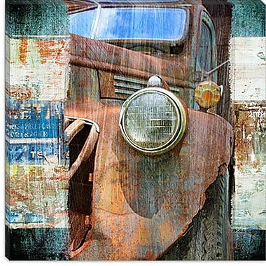 iCanvas ''Old Truck'' by Luz Graphics Graphic Art on Canvas; 18'' H x 18'' W x 1.5'' D