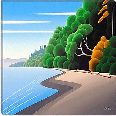 iCanvas ''Coastal Autumn'' by Ron Parker Graphic Art on Canvas; 18'' H x 18'' W x 1.5'' D