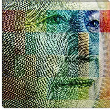 iCanvas Canada Money Queen #2 Graphic Art on Canvas; 26'' H x 26'' W x 0.75'' D