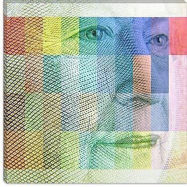 iCanvas Canada Money Queen #3 Graphic Art on Canvas; 12'' H x 12'' W x 0.75'' D