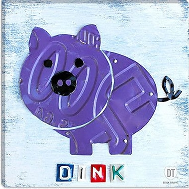 iCanvas Kids Children Oink the Pig from Design Turnpike Graphic Art on Canvas