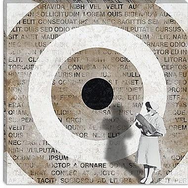 iCanvas Modern Nurse the Bomb Graphic Art on Canvas; 18'' H x 18'' W x 0.75'' D