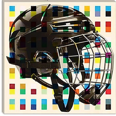 iCanvas Canada Hockey Mask Graphic Art on Canvas; 26'' H x 26'' W x 1.5'' D