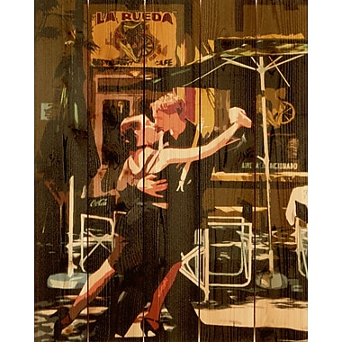 Gizaun Art Argentine Tango Graphic Art; 16 x 24