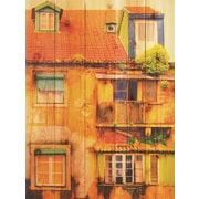 Gizaun Art Painted House Photographic Print; 28 x 36