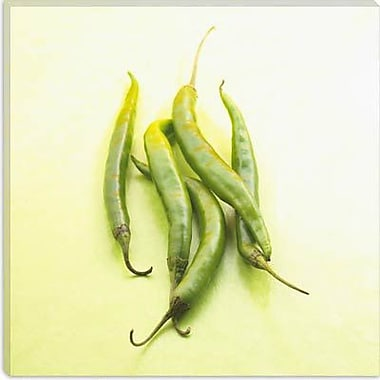iCanvas Food and Cuisine Pea Pods Photographic Print on Canvas; 37'' H x 37'' W x 1.5'' D