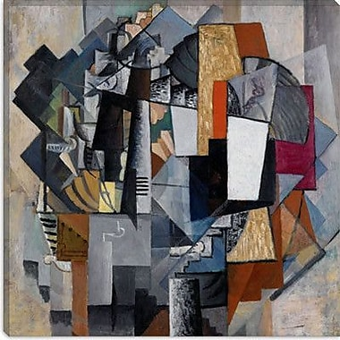 iCanvas ''Bureau And Room'' by Kazimir Malevich Graphic Art on Canvas; 12'' H x 12'' W x 1.5'' D