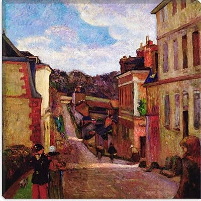 iCanvas ''A Suburban Street, 1884'' Canvas Wall Art by Paul Gauguin; 37'' H x 37'' W x 0.75'' D