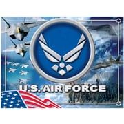 Holland Bar Stool US Armed Forces Graphic Art on Wrapped Canvas; Air Force