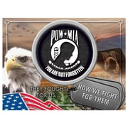 Holland Bar Stool US Armed Forces Graphic Art on Wrapped Canvas; POW/MIA
