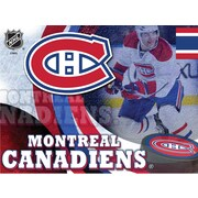 Holland Bar Stool NHL Graphic Art on Wrapped Canvas; Montreal Canadiens