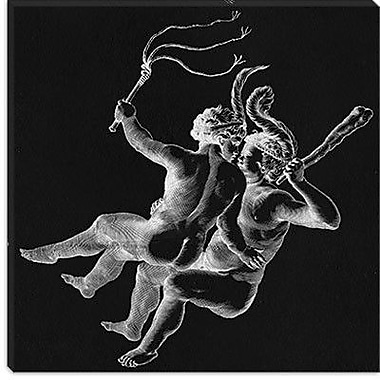 iCanvas Gemini II Graphic Art on Canvas; 12'' H x 12'' W x 0.75'' D