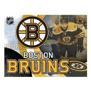 Holland Bar Stool NHL Graphic Art on Wrapped Canvas; Boston Bruins