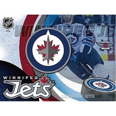 Holland Bar Stool NHL Graphic Art on Wrapped Canvas; Winnipeg Jets