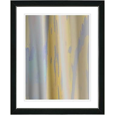 Studio Works Modern ''Yellow Flow'' by Zhee Singer Framed Graphic Art in Grey; Black