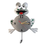 H & K SCULPTURES Frog  Pendulum Clock