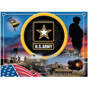 Holland Bar Stool US Armed Forces Graphic Art on Wrapped Canvas; Army