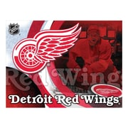 Holland Bar Stool NHL Graphic Art on Wrapped Canvas; Detroit Red Wings