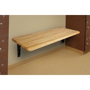 WB Manufacturing Hardwood Locker ADA Bench; 24'' x 48''