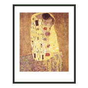 Frames By Mail 'The Kiss' by Gustav Klimt Framed Painting Print