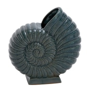 Cole & Grey Ceramic Crackled Table Vase; 11'' H x 7'' W x 5'' D