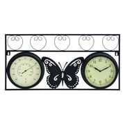 Woodland Imports Metal Wall Clock